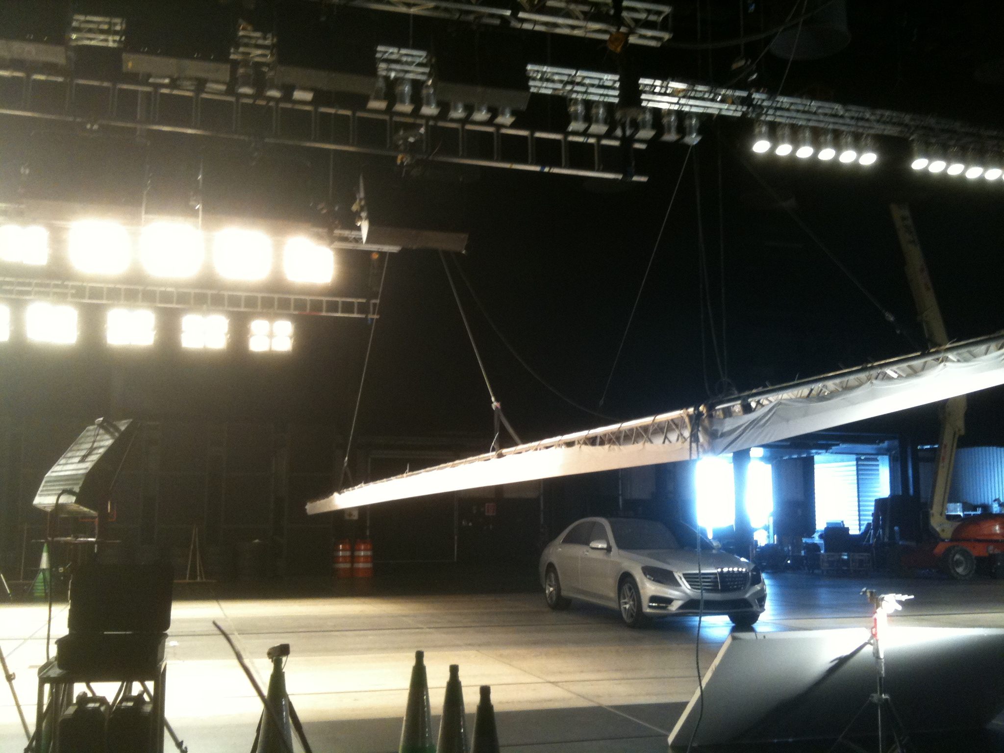 Mercedes commercial _rigging equipment supplied