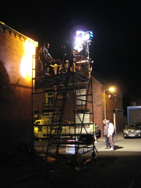 KUBE RIGGING on location in Bolton (England)